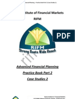 Advance Financial Planning Practice Book Part 2 Case Studies 2