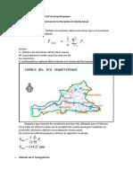 Considerando La Cuenca Del Río JJequetepeque