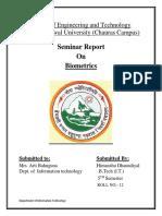 Report Final Biometrics by Himanshu - Copy