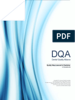 Quality Measurement in Dentistry