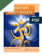 Sana Than Shakti Songbook 1