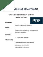 Portafolio Prueba Educativa - Gonzales - Quiroga - Villegas
