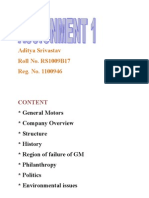 Aditya Srivastav General Motors
