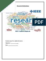 Kuldip & Akshay Research Methodology Project