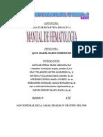 manual de hematologia
