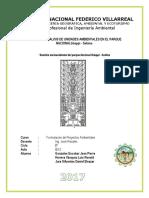 Informe de Analisis de Unidades Ambientales.