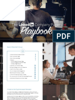 Linkedin Company Pages Playbook July 2018