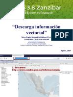 3. Obtención de Información Vectorial
