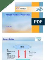 3G to 2G Handover v1