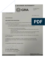 GRA's new directives