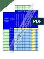 02 Prioritization Matrix Chart