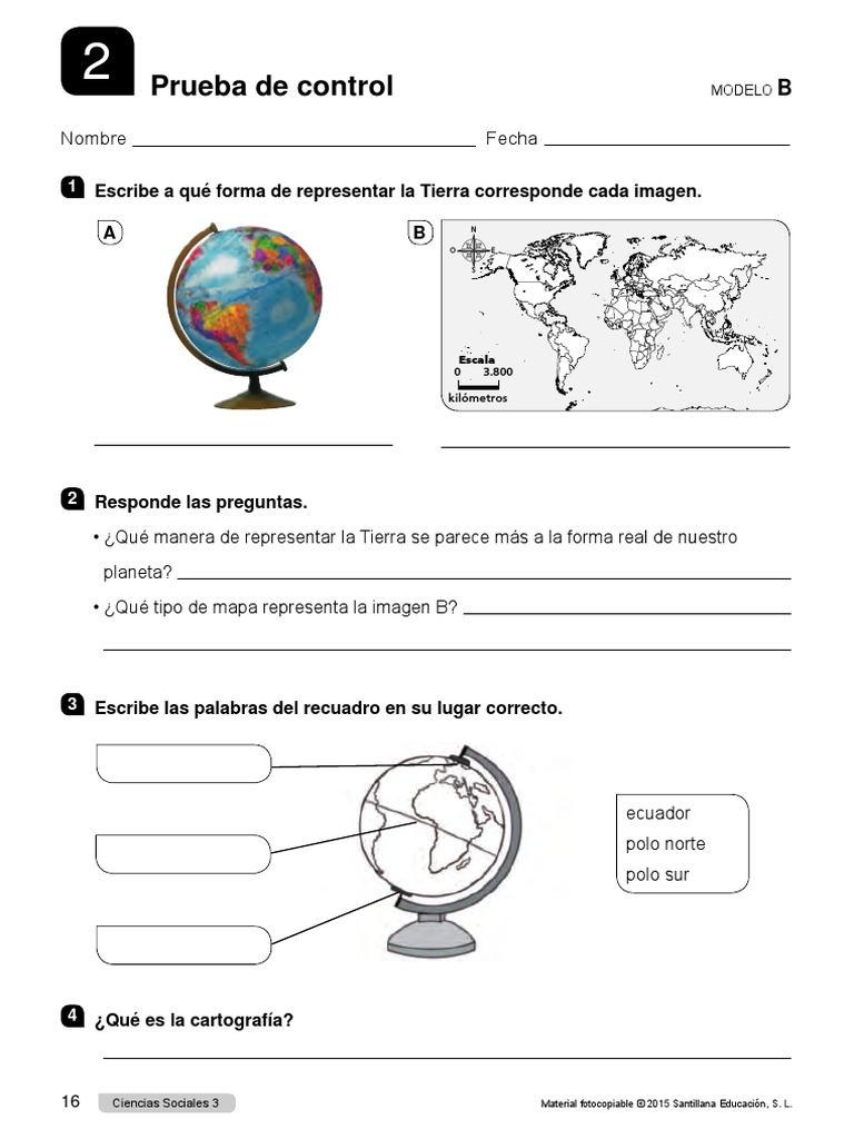 Evalucion De Sociales 3 Primaria 016 016 Pdf