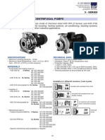 Ebara Stainless Steel Centrifugal Pump - 3-Series