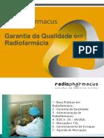 Controle e garantia da qualidade de radiofármacos