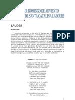 LAUDES DE SANTA CATALINA 2010