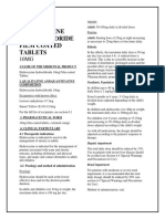 Hydroxyzine Hydrochloride 10mg Film-coated Tablets SMPC- Taj Pharmaceuticals