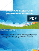 Practical Research II