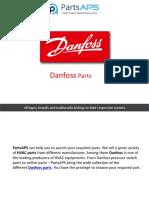 Danfoss                             | HVAC Parts and Accessories | Air Conditioner Parts | HVAC Parts | Refrigerator Parts- PartsAPS