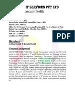 Company Profileupdated18oct