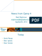 ASDC12-Project Basecamp News From Base 4
