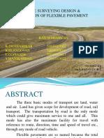 Design the flexibile pavement