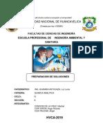 Informe de Quimica Analitica Final