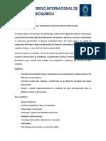 Bases Trabajos de Investigaciones Congreso Internacional