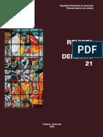 REVISTA DE DERECHO N° 21 TSJ