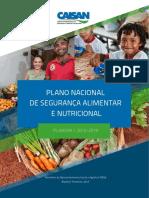 Plano Nacional de Segurança Alimentar e Nutricional - PLANSAN-2016