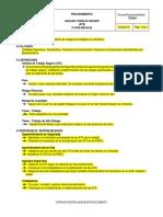 Analisis de Trabajo Seguro (ATS)
