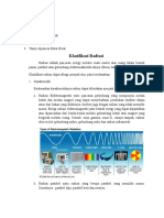 klasifikasi radiasi