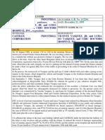 10 Castilex Industrial Corporation vs. Vicente Vasquez Jr. and Luisa So Vasquez and Cebu Doctors Hospital Inc.
