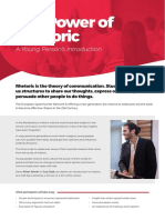 The Power of Rhetoric - A Young Person's Guide