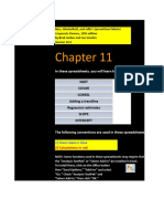 CF 10e Chapter 11 Excel Master Student