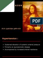 Hypertension - Mahasiswa Presentation