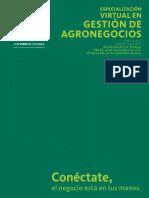 Estudios en patologías agronegocios