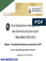 Management Des Chantiers de Construction (1)