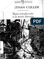 CULLER 0breve Introduccion a La Teoria Literaria