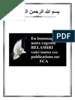 RECEUIL BELAMIRI