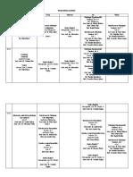 Orar Licenta 2019-2020