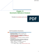 CH 12 Gravimetric Methods of Analysis