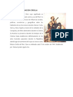 Historia de La Cancion Criolla