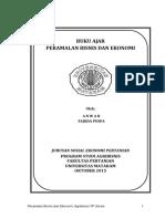 Buku Ajar Peramalan Bisnis FP 2015
