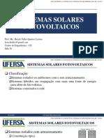 CUES - Classificação, Efeito Fotovoltaico, Células, Módulos e Painéis