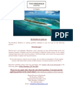 Advert- 18 Oct 19- Storekeeper- Job Maldives