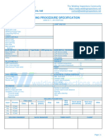 WPS format for AWS D1.1 - WPS - FCAW