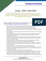 SunWize Tech Notes IEEE 1562 2007