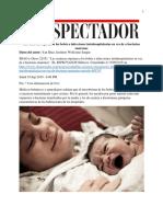 Las Césareas Exponen a Los Bebés a Infecciones