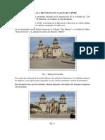 Iglesia La Recoleta en Cajamarca Perú
