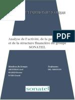 Diagnostic Financier Sonatel